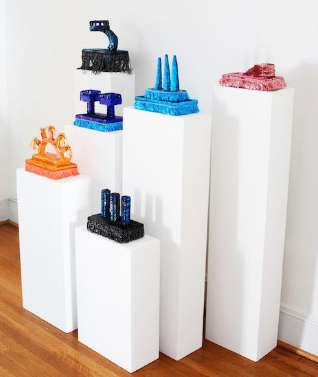 Floats (sequins, trimmings, foam - 2012/2015)